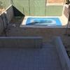 Instalación riego y césped jardin nuevo de 70m2