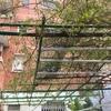 Retirada de escombro de caseta de patio y hierros