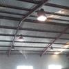 Aislamiento termico de techo en nave industrial