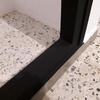 Instalar puerta corredera de pvc, tipo acordeon para armario empotrado de obra