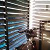 Cerramiento terraza con ventanas de aluminio