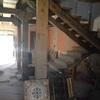 Limpieza y soplado de maderas en techo, postes y cargaderos