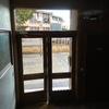 Puerta de portal nueva