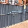Pintar puertas de la calle de chalet
