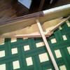 Reparación estructura de madera sofá
