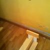 Pintar habitación, reparar suelo flotante y colocar ropero