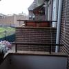Instalar celosia metalica en el murete de la terraza con dimesiones 1,30 de largo por 1.30 de ancho