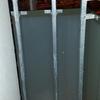 Armario aluminio 2 puertas terraza