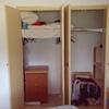 Tirar los tabiques de dos armarios empotrados