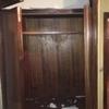 Reparar una habitación por humedades del piso superior