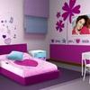 Pintar de un color la habitación entera + una franja en otro color