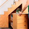 Escalera estanteria