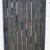 Fabricar e instalar puerta de madera de jardín