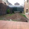 Vaciar jardín hacer sótano