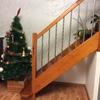 Baranda de cristal para escalera