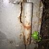 Soldar bisagra puerta garaje