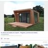 Caseta de jardin con ventanas