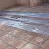 Impermializacion de terraza de pavements de barro en parte alta  que hace humedade said al techo de la parte baja