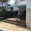 Instalar valla seguridad entre terraza y piscina + pérgola