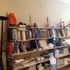 Hacer librería  a medida para despacho con mesa decestudio