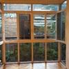 Limpieza de dos miradores cristales y ventanas de aluminio
