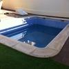 Fuga de agua en piscina de obra 6x4