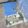 Arreglar suelo ducha exterior