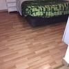 Reformar suelo de dos dormitorios suelo de vinilo imitación madera