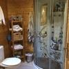 Retirar cabina ducha e instalar plato ducha y mampara grande