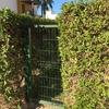 Instalación puerta jardin metalica