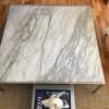 Pulido mesa de marmol