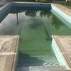 Limpieza de piscina después del invierno