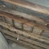 Tirar techos poner nuevos de madera