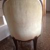 Tapizado sillón antiguo