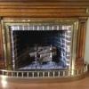Puerta de cristal para chimenea francesa