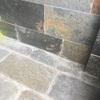 Pulido suelo pizarra exterior