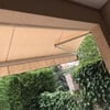 Instalación de toldo vertical con railes