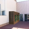 Armario/caseta/contenedor con ventana para terraza ático