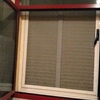 Quitar contraventana de aluminio y colocar persiana enrollable de pvc son dos huecos de 150cm por 150