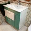 Pintar de blanco mueble de baño