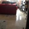 Parquet flotante en el salón de 25 metros cuadrados y rebaje puertas quizá pintar