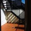 Cerramiento hueco escalera exterior