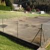 Convertir pista de tenis en pista de padel en berango bizkaia