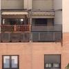 Instalar celosía metálica en terraza