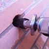 Reparar tubería plástico de la toma de agua