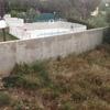 Construcción piscina prefabricada de poliéster