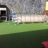 Construir piscina de 6 m por 3 m