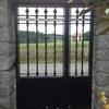 Pintar 4 puertas de hierro