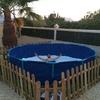 Llenado de piscina