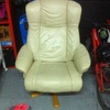 Tapizar sillón en piel